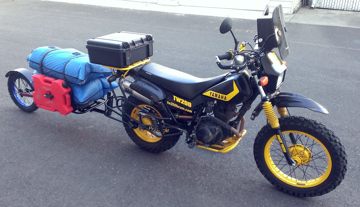 Moto Mule A Cargo Trailer To Pull Behind Your Dual Sport