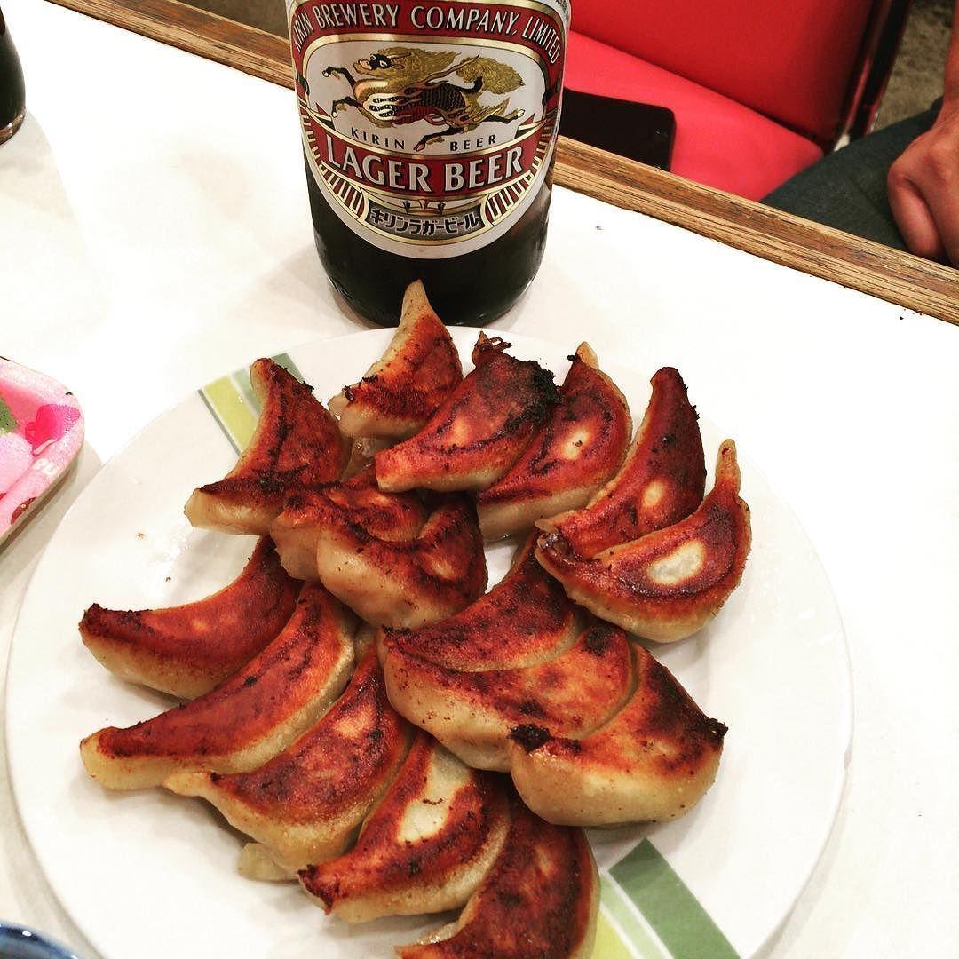またまた三宝  #餃子 #キリンビール #ラガー