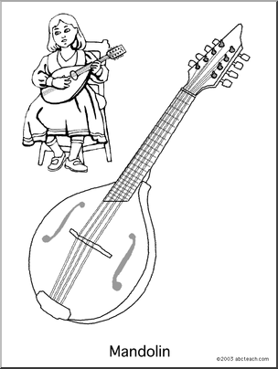 Mandolins Coloring Pages 1 Png 304 404 Coloring Pages Mandolin Art