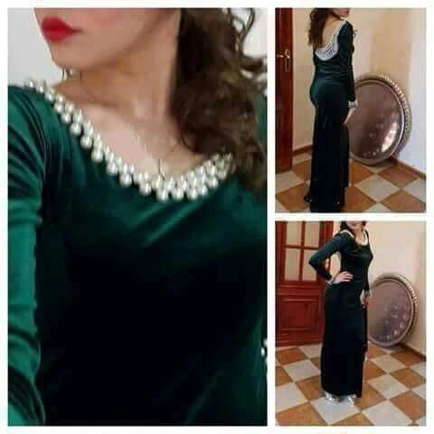 Pin By Benadda Farida On بلوزة والقفطان Fashion Traditional Dresses Moroccan Dress
