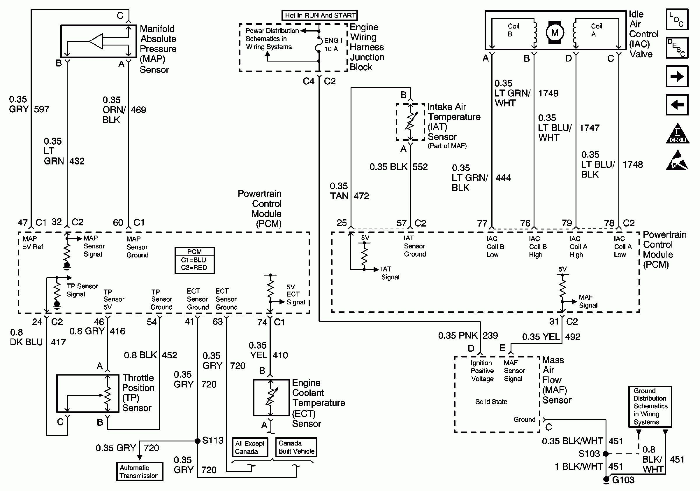 Chevy Cruze Maf Iat Sensor Wiring Diagram