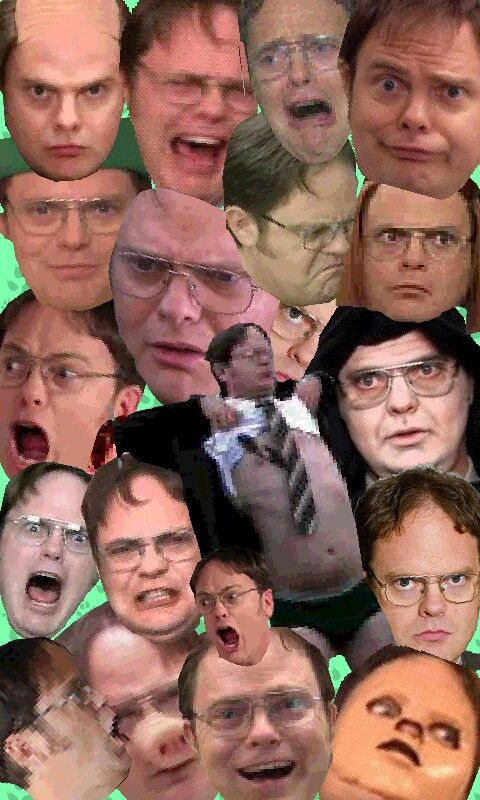 Many faces of Dwight Schrute The office show, Office