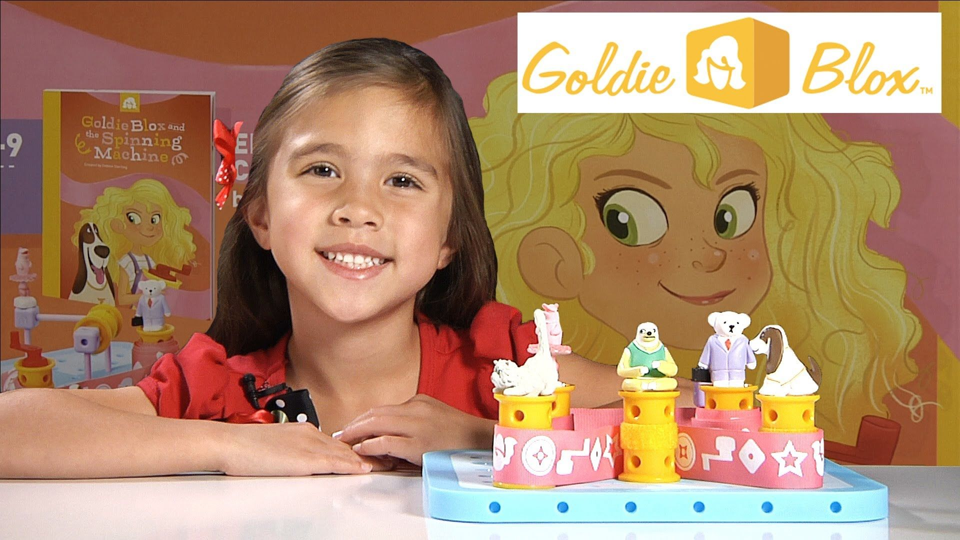 "Gol Blox ""Gol Blox and the Spinning Machine"" Unboxing & Review"