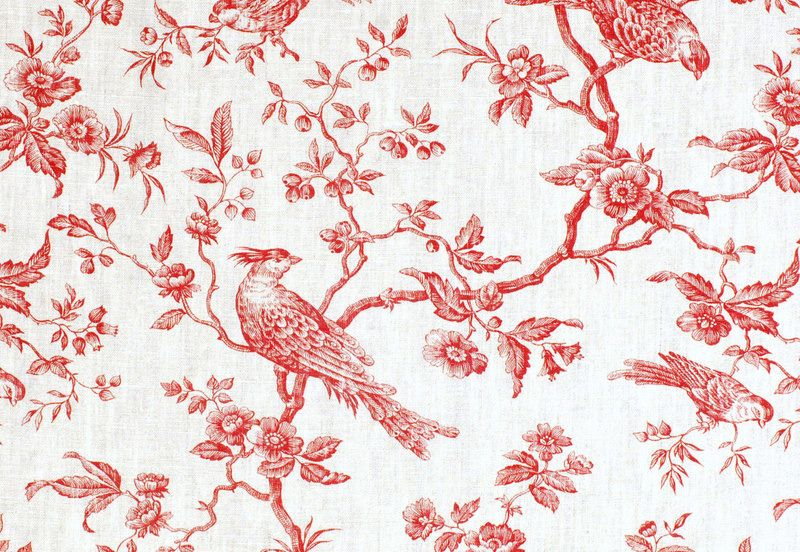 set de table plastifi motif toile de jouy rouge 3 set de table motifs et table. Black Bedroom Furniture Sets. Home Design Ideas