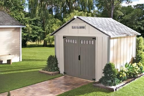 Backyard sheds are the safest place to store our tools and