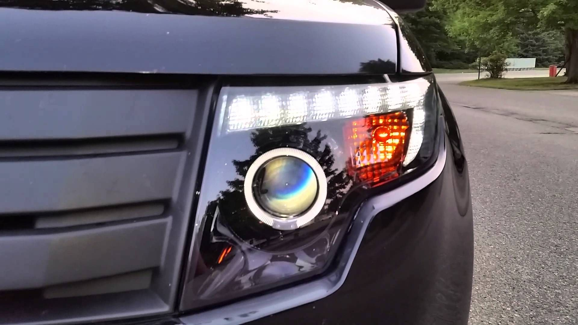 How To Install Ford Edge Projector Headlights Ford Edge Headlight Covers Projector Headlights