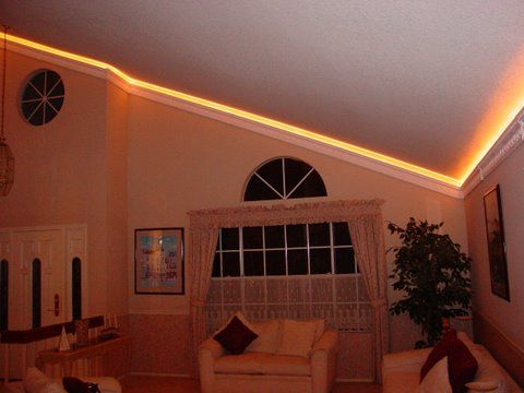 crown molding on vaulted or cathedral ceilings Nice Beautiful