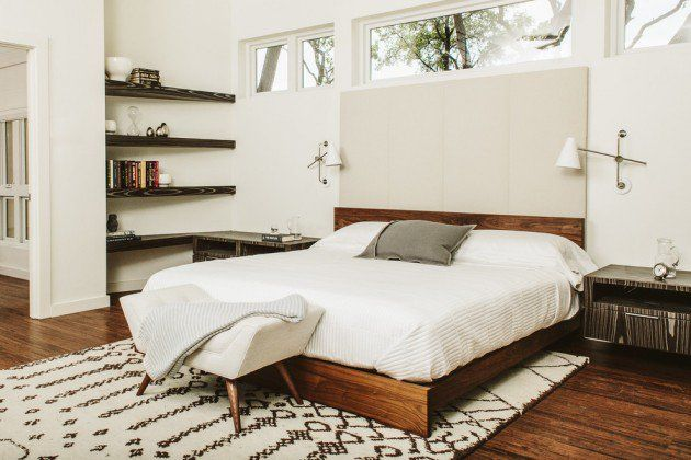 15 Chic Mid Century Modern Bedroom Designs To Throw You Back In Time Bedroom Trends Mid Century Modern Bedroom Modern Bedroom Design