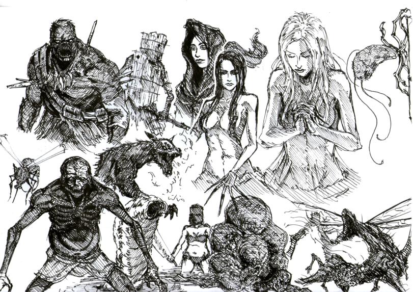 Blighttown,DS локации,Dark Souls,фэндомы,DS art,DS персонажи