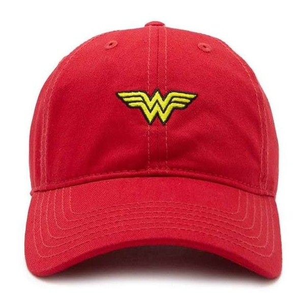 8606765131efc Forever21 Wonder Woman Baseball Cap ( 13) ❤ liked on Polyvore featuring  accessories