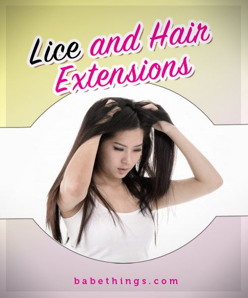 How to get lice out of hair extensions