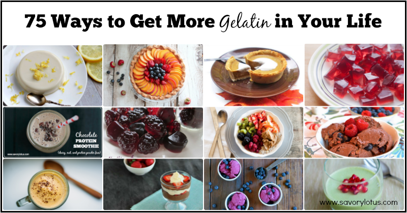 Want to improve your digestion? Want to heal your gut? Want tighter, smoother skin and stronger hair, nails, and bones? Gelatin can help!