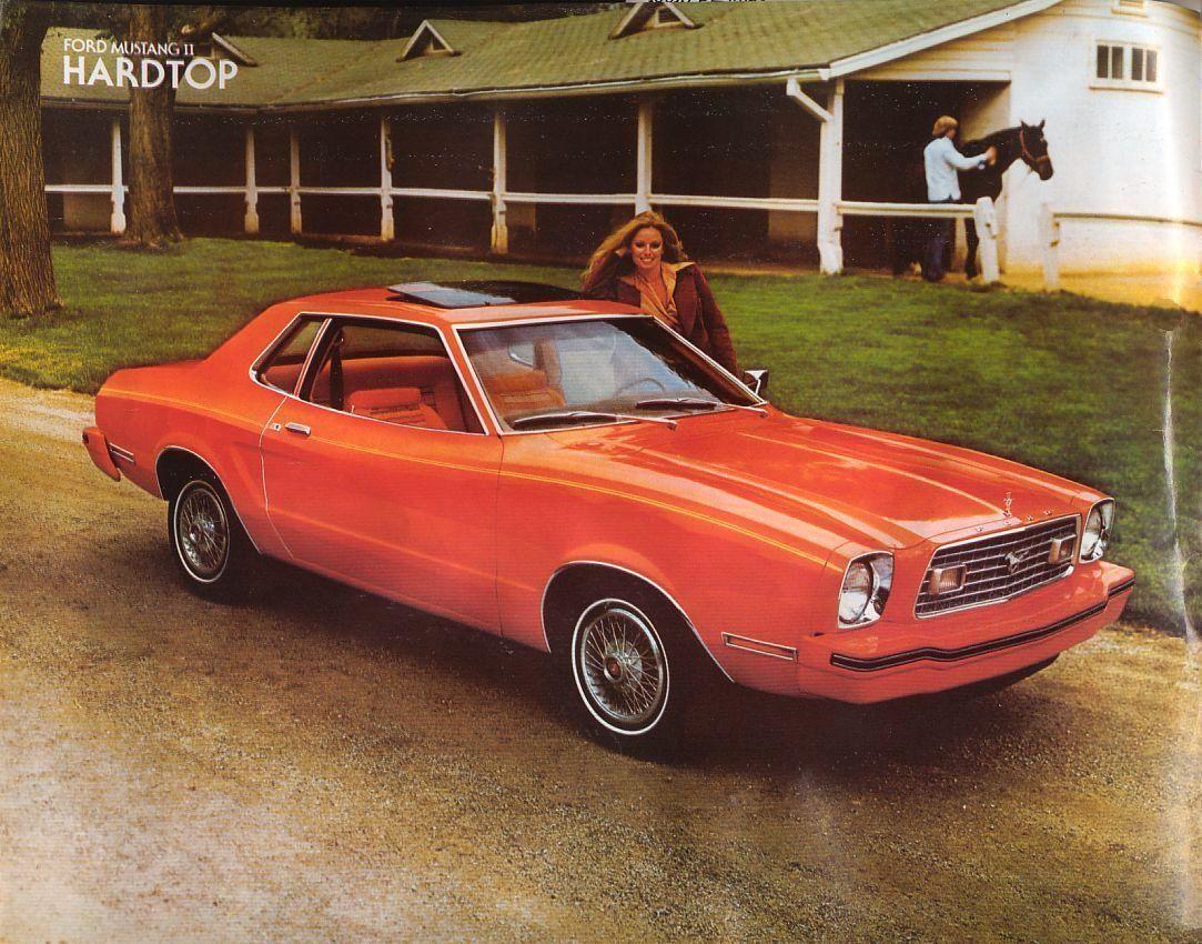 1978 ford mustang ii hardtop