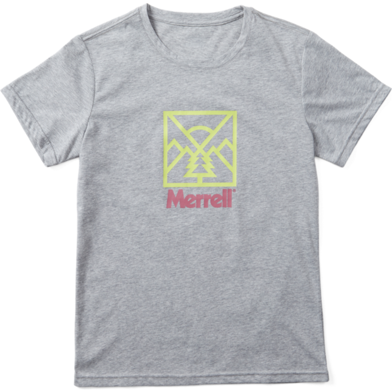 Join the Merrell crew with eye-catching logowear.