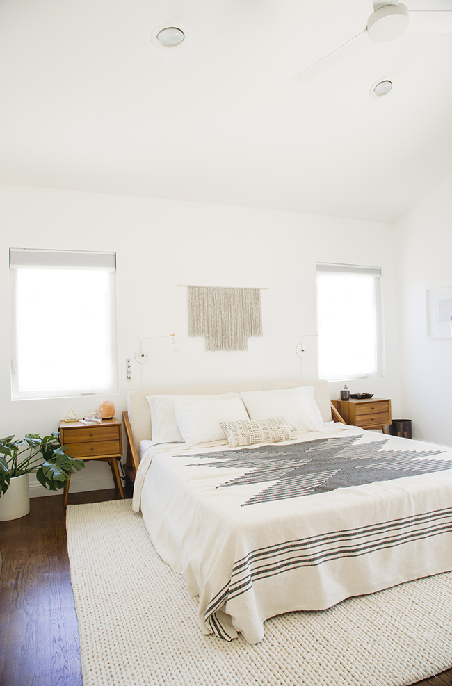 Antes y despues dormitorio estilo nordico cambio de look - Dormitorios estilo nordico ...