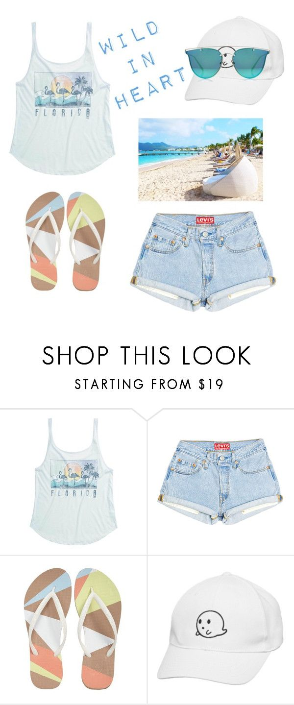 """""""Time to be wild"""" by assylay ❤ liked on Polyvore featuring Billabong, Reef and Boohoo"""