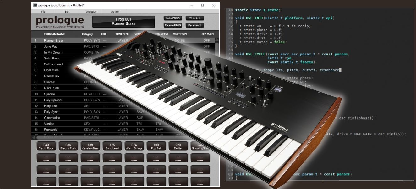 Korg Prologue SDK Now Available To Download : Ask Audio | Music
