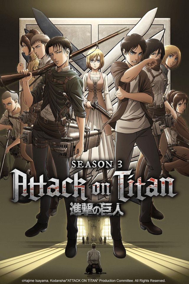Attack On Titan International Dubs Watch On Crunchyroll Attack On Titan Attack On Titan Season Titans