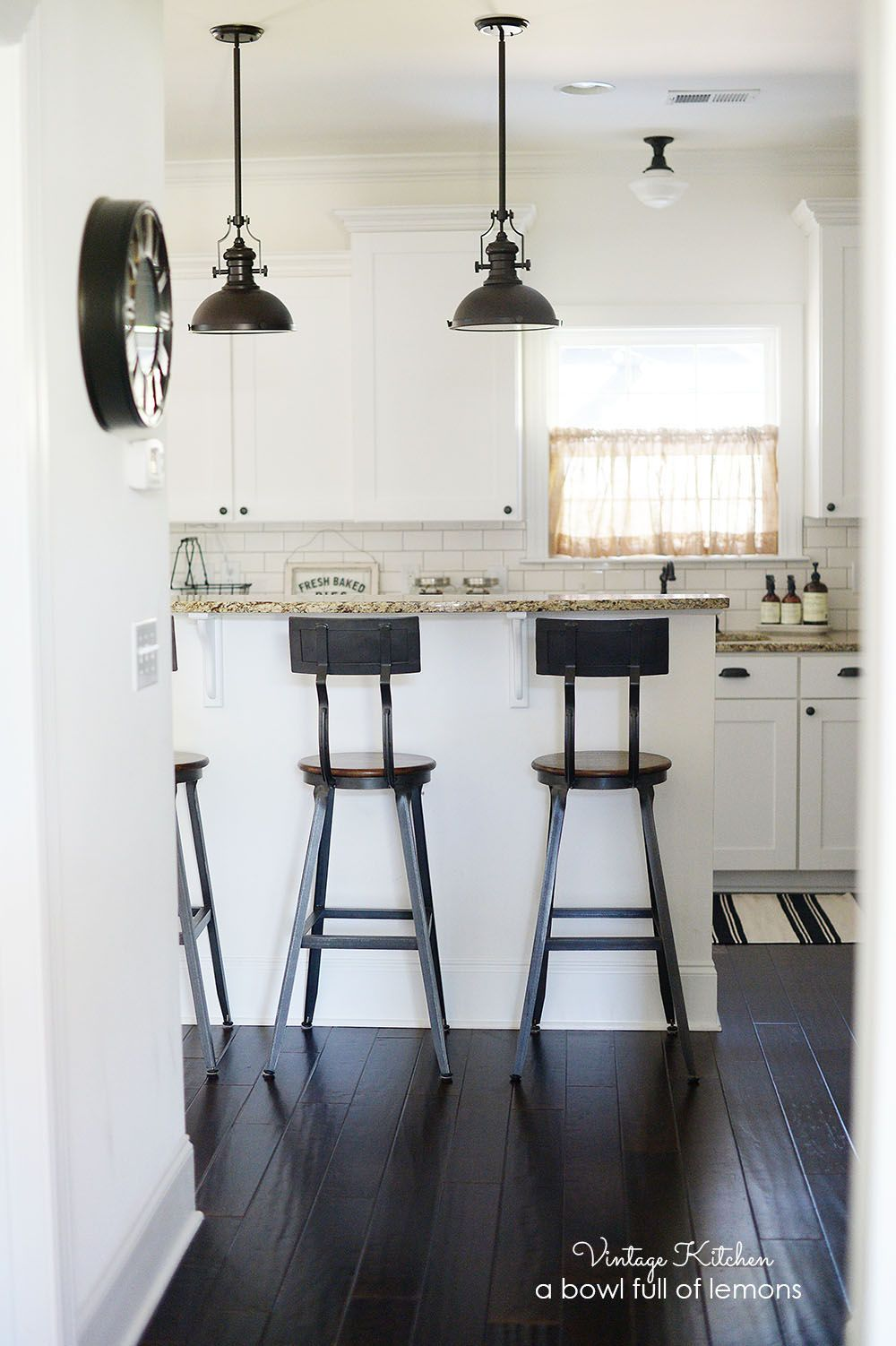 How to add vintage style to a builders grade kitchen by A Bowl Full ...