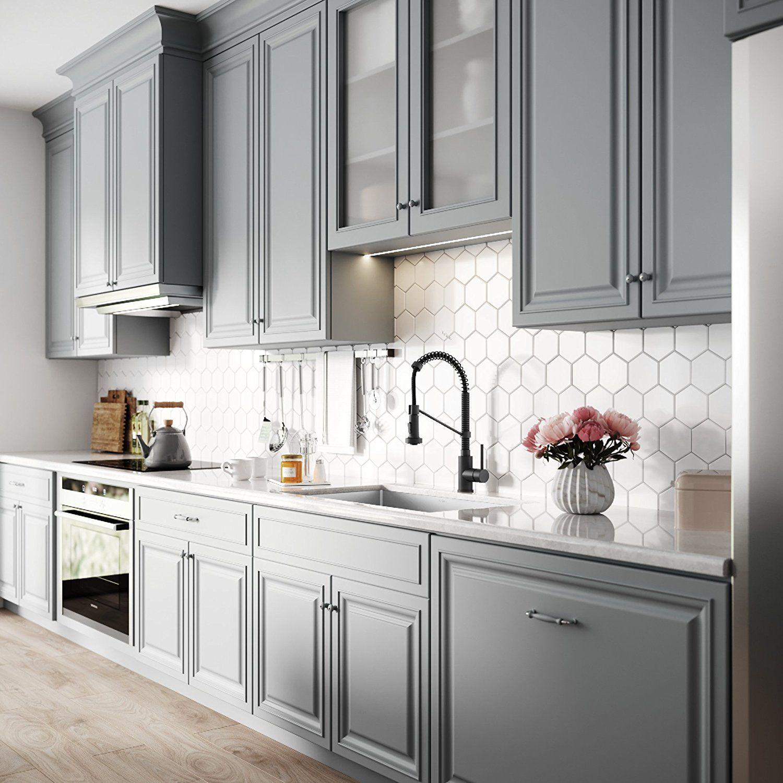 Kraus Standart Pro 32 Inch 16 Gauge Undermount Single Bowl Stainless Steel Kitchen Sink Khu100 32 Amazo New Kitchen Cabinets Modern Kitchen Kitchen Design