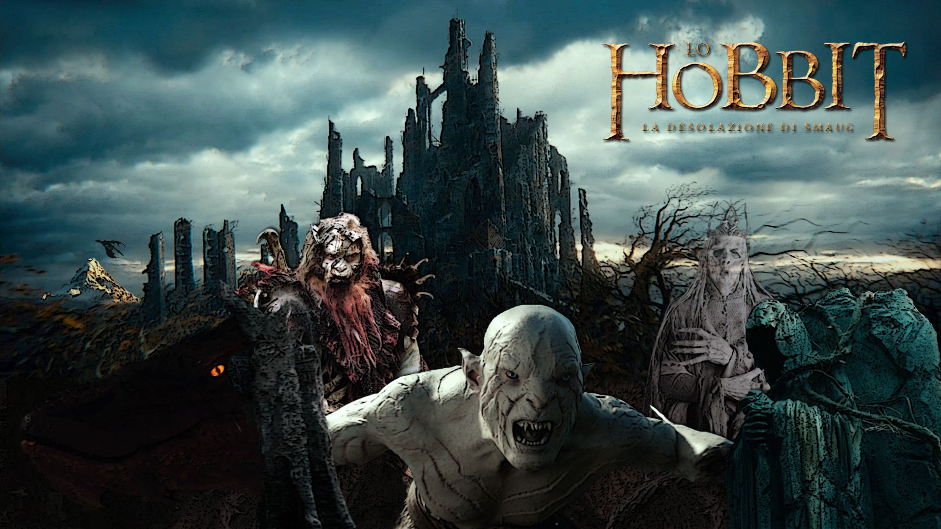 The Hobbit An Unexpected Journey Free the Hobbit HD Wallpapers