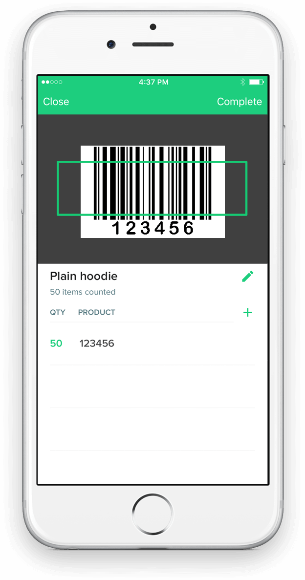 Counter | Free Inventory Barcode Scanner iPhone App for