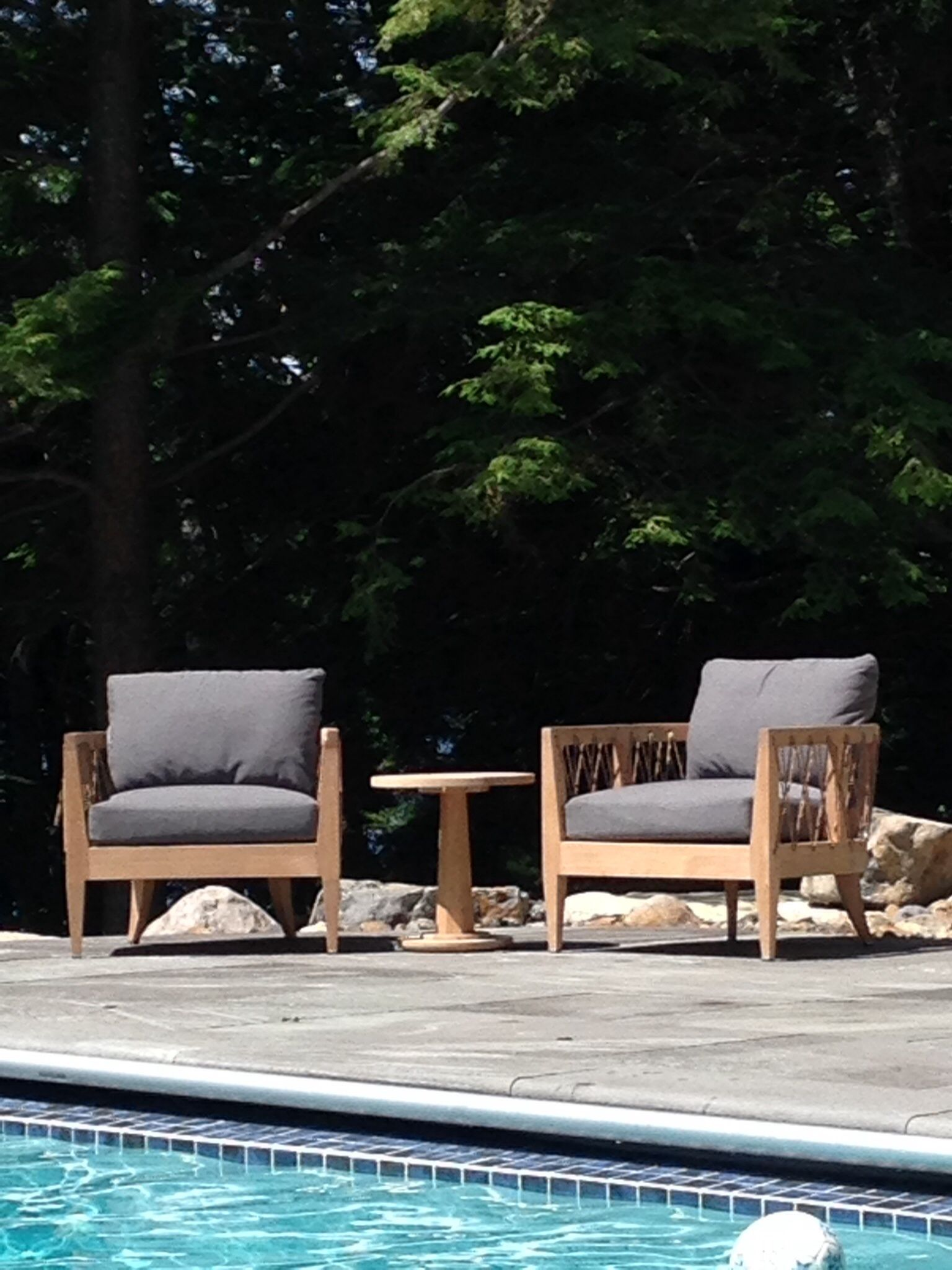 Maine Outdoor , Walsh Hill Design, Brown Jordan Marin Chairs