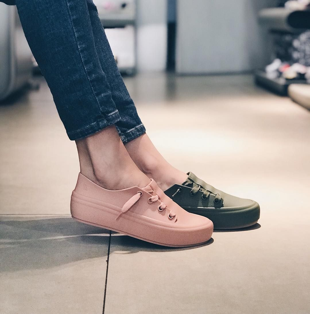 Melissa shoes, Sneakers looks, Casual shoes
