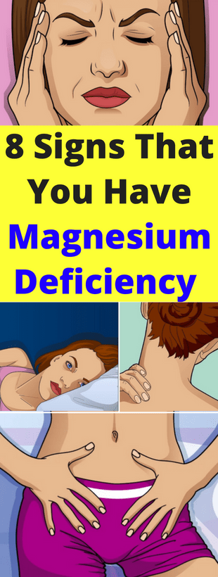 Here Are 8 Signs That You Have Magnesium Deficiency & What To Do About It!!!  #lifestyle  #fitness