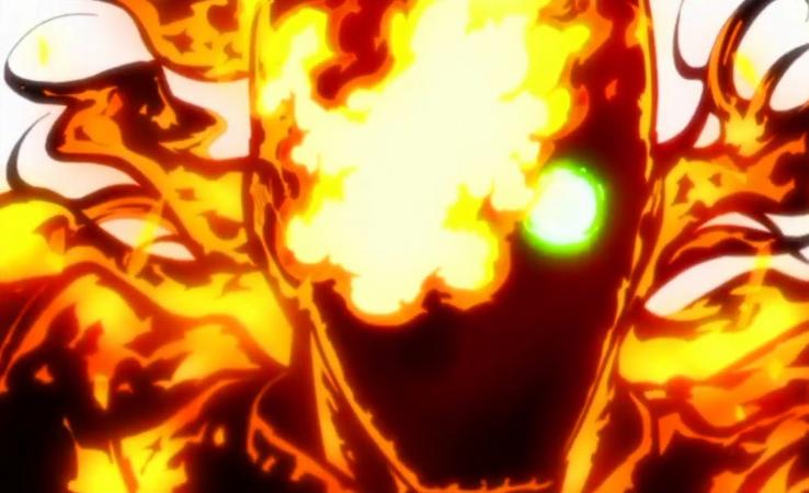 Season 1 Ends With A Sizzling Shinra Fire Shinra Kusakabe Skull Illustration