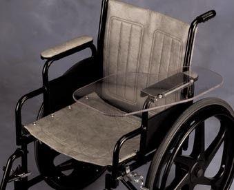 Flip Away Wheelchair Half Tray Assistive Technology Tray