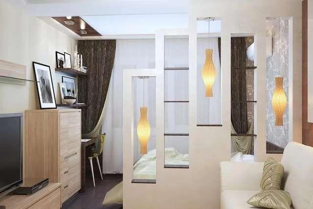 дизайн комнаты 19 квм в однокомнатной квартире фото 1
