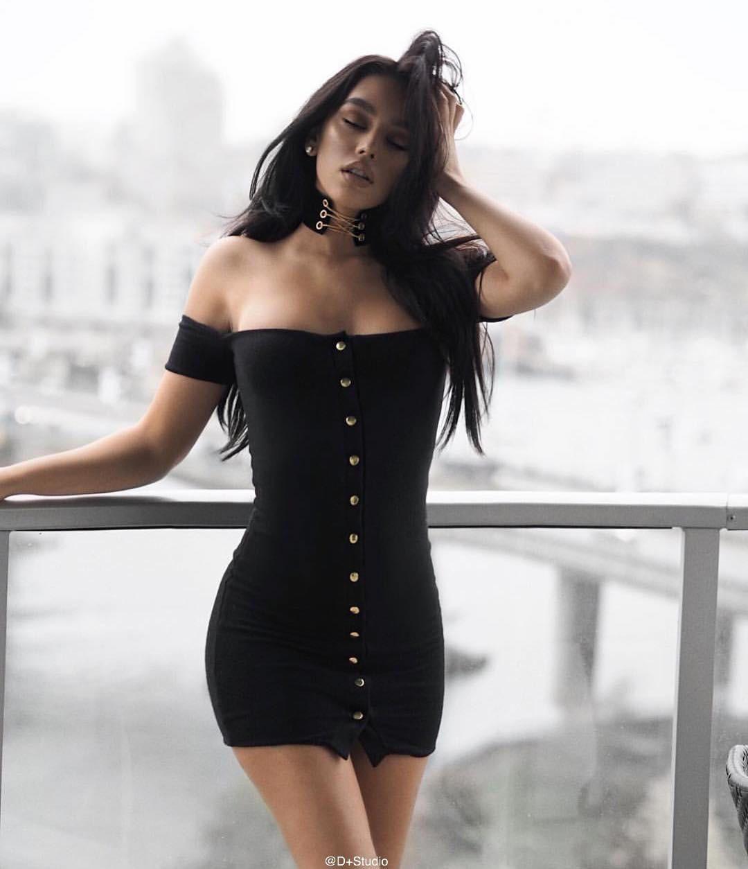 Stylish short sleeve slim one piece dress vestidos
