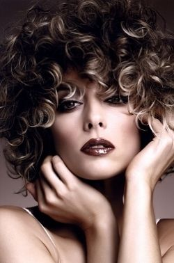 Love The Color Hair Highlights Short Curly Hairstyles 2014 Curly Hair Styles