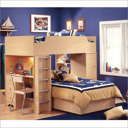 South Shore Furniture Newton Twin Top Bunk Bed With Ladder