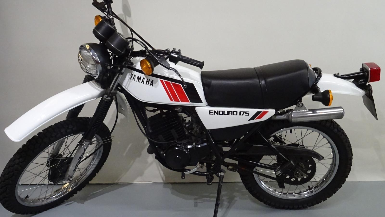 Yamaha dt175 fully restored stunning bike ebay for Yamaha sun classic parts