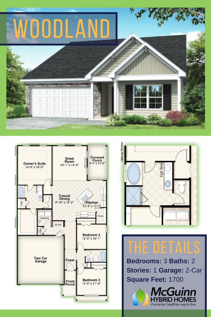 Are You Looking For A Great Floor Plan For Your Family Learn More About This 3 Bedroom 2 Bathroom Layout That Offer House Plans Floor Plans Dream House Plans