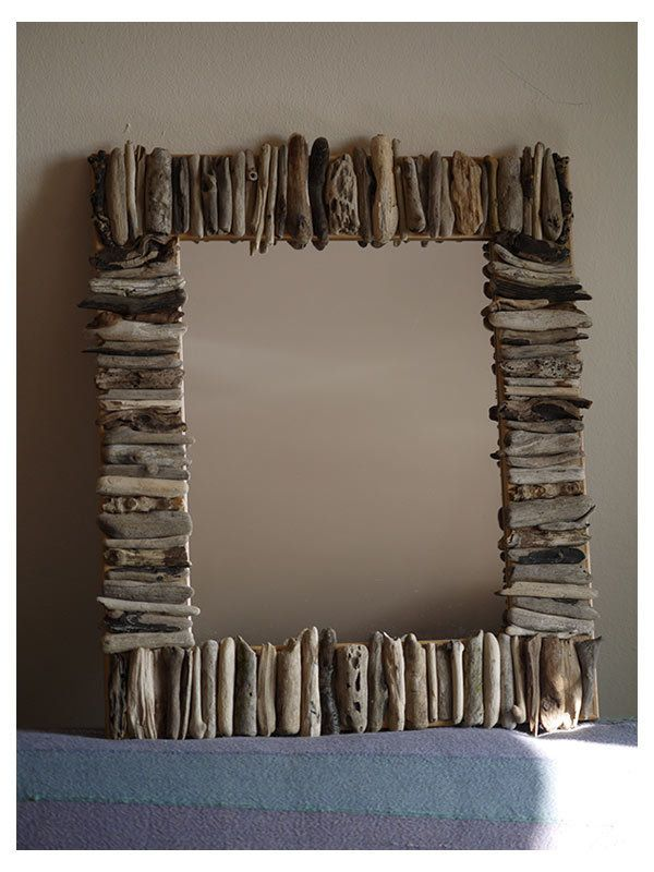 Decorative Driftwood Mirror   Smoke and Mirrors Folksy Collection ...