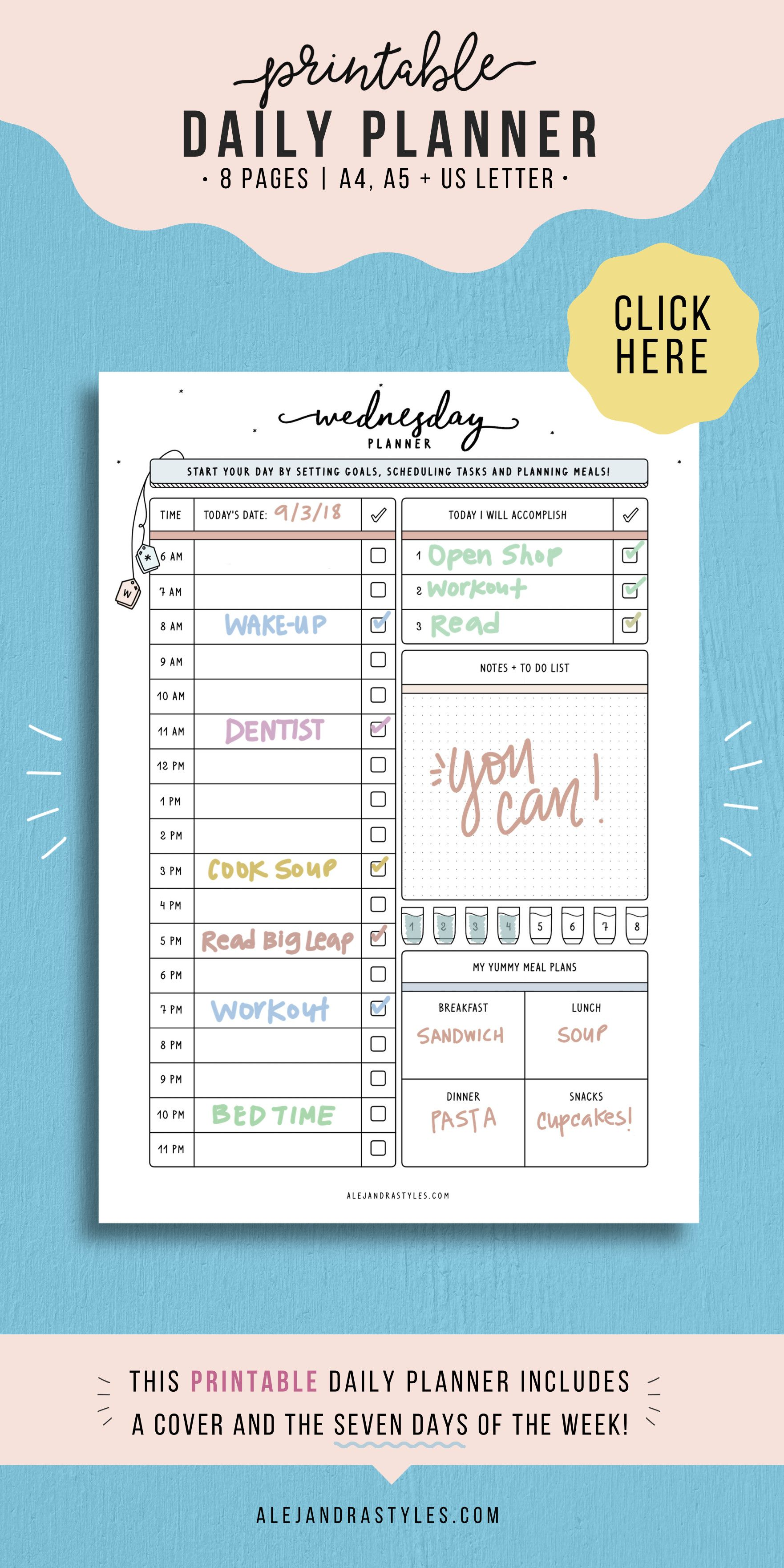 Top Daily Hourly Schedule In