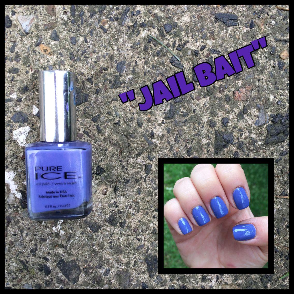 2. Pure Ice: Jail Bait #NailPolish #PureIce #JailBait | Nail Polish ...