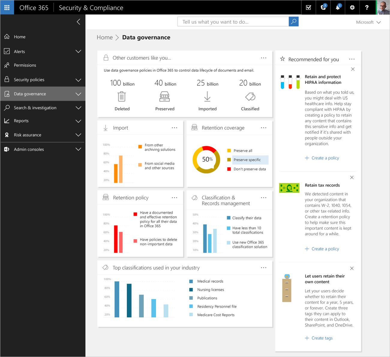Microsoft Announces Data Governance Dashboard For Office 365 Google Ends Support For Android Developer Tools In Eclipse And Aws Releases Amazo Recherche Google