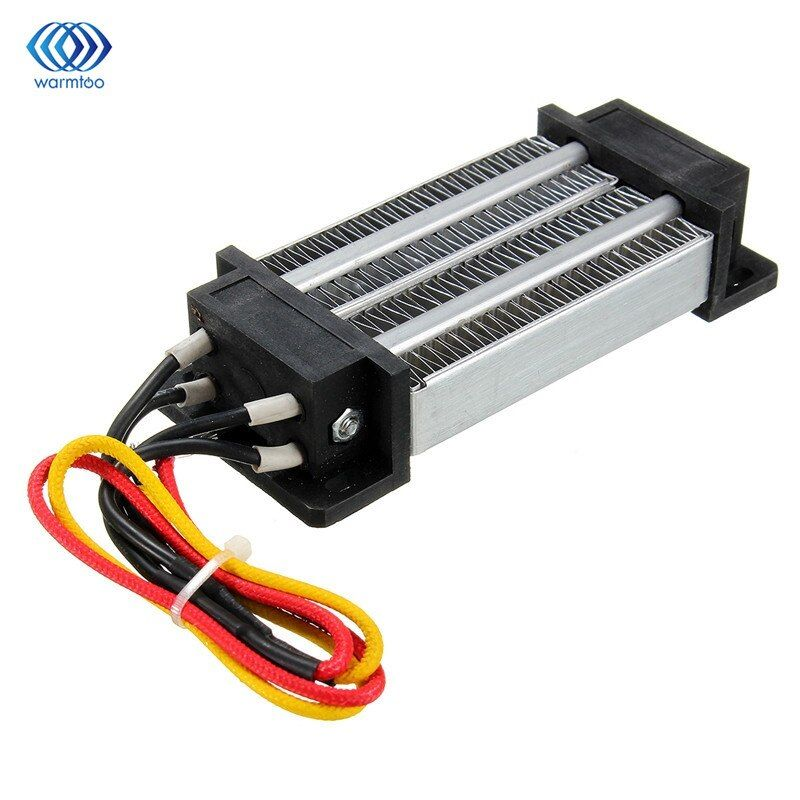 Thermostatic Ptc Heating Element Electric Ceramic Heater 12v 200w Insulated Air Heater 120 51 26mm Heating Element Electricity Diy Kits