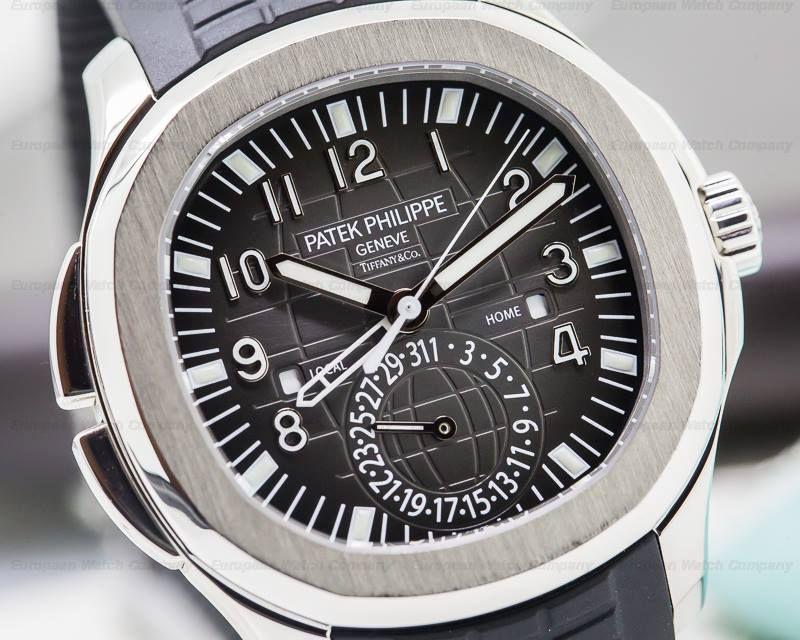d605dbe63404c Patek Philippe 5164 Aquanaut Dual Time TIFFANY & CO, 5164A-001 ...