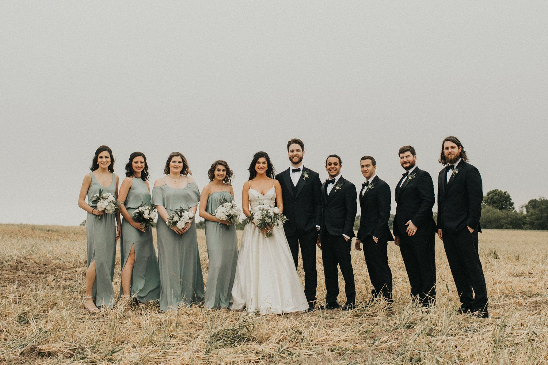 Elegant White and Green Wedding -   14 wedding Party green ideas