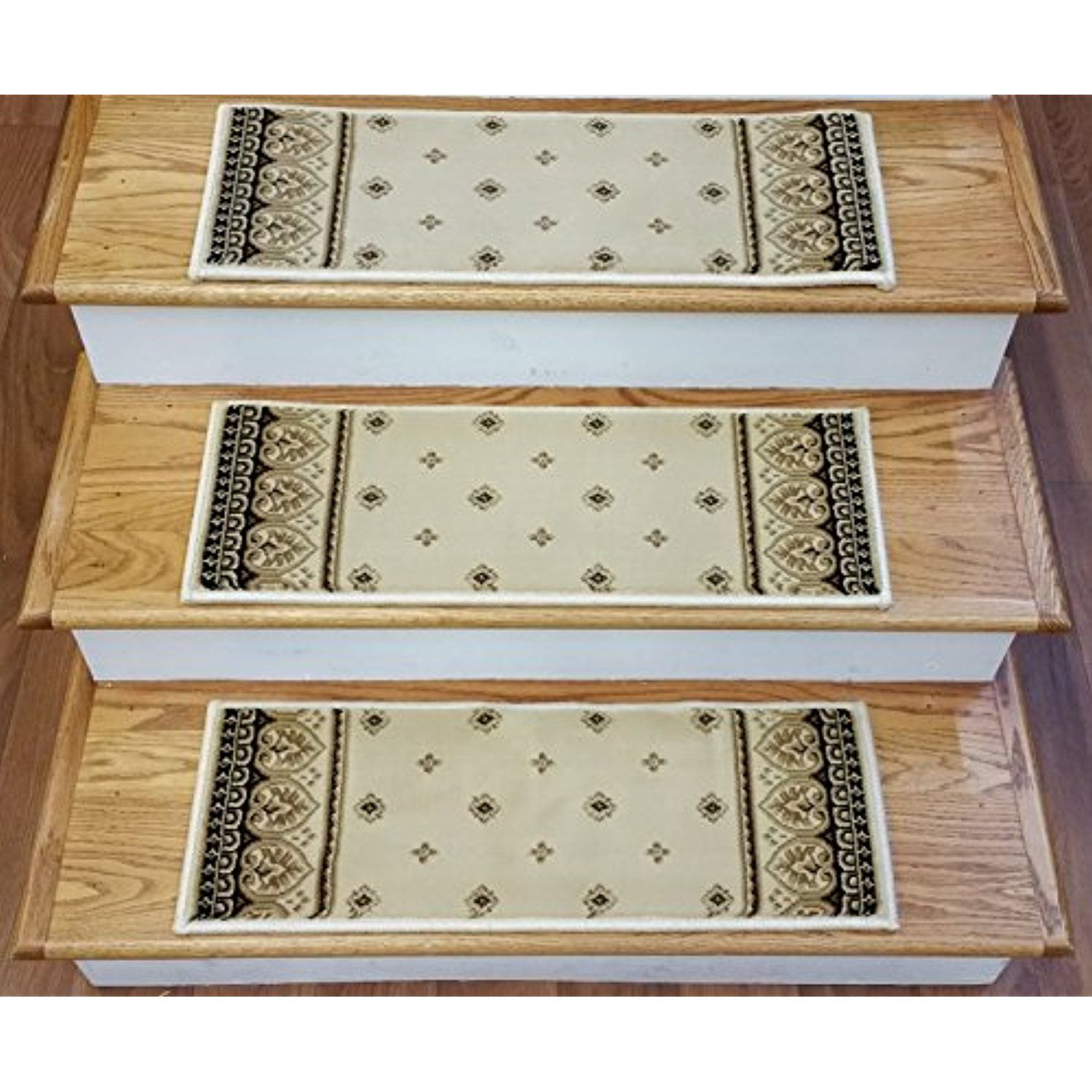 Best 153491 Rug Depot Carpet Stair Treads Set Of 13 Stair 400 x 300
