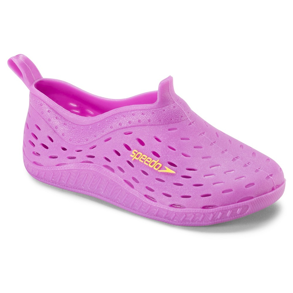 ca3f60c3d708 Speedo Toddler Girls Jellies Water Shoes - Purple (Extra Large ...