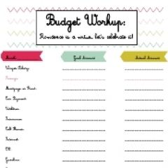 easy budget printable budgeting pinterest easy budget