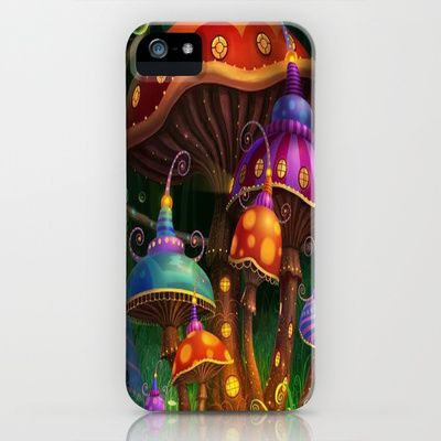 mushroom,art iPhone & iPod Case by store2u - $35.00