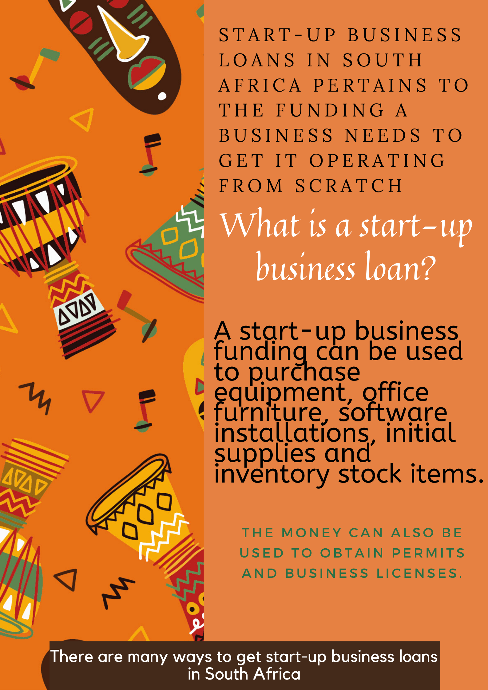 How To Get Start Up Business Loans In South Africa In 2020 Start Up Business Business Loans Start Up