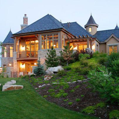 Ways to landscape hills Home Decor/Cool Ideas Pinterest